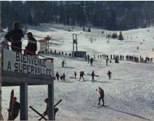 Première station de ski de la famille Remy en 1961