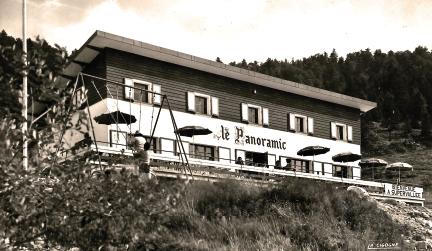 Bar-restaurant ouvert de 1961 à 1972