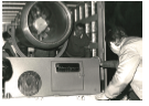 Premier canon à neige le 24 décembre 1971