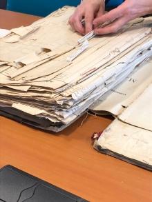 Dépouillement d'archives. Archives départementales des Deux-Sèvres